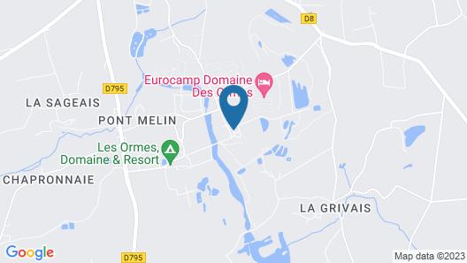 Dôme Paradise / Domaine des Ormes Map