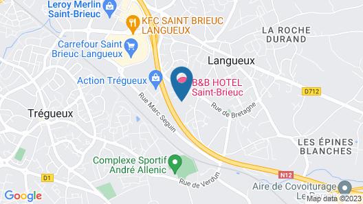 Kyriad Saint Brieuc - Tregueux Map