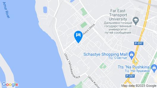 Arirang Hotel Map