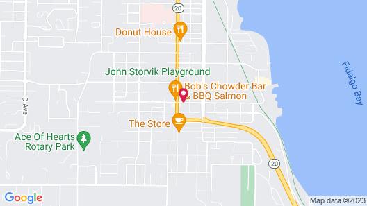 Islands Inn Map