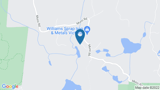 Misty Meadows Bed and Breakfast Map