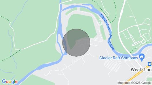 Fantastic West Glacier Cabin With Views of Glacier Park & Golf Course! Map