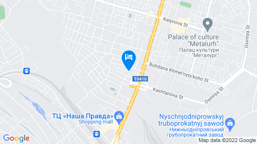 Zagrava Hotel Map