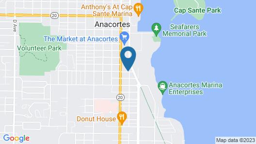 Sunrise Inn Villas and Suites Map