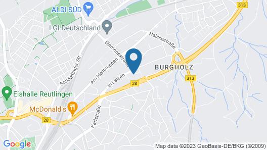 Hotel in Laisen Map