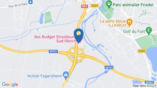 Holiday Inn Express Strasbourg - Sud Map