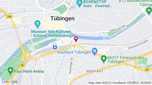ibis Styles Tubingen Map