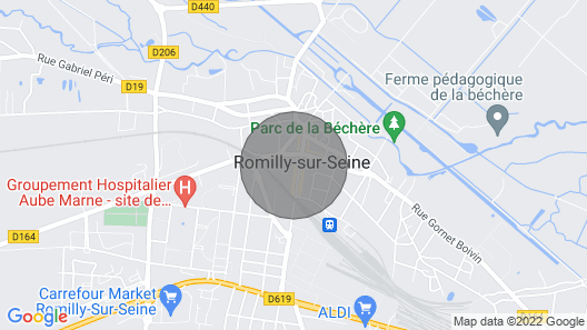 Apartment Romilly-sur-seine, 1 Bedroom, 4 Persons Map