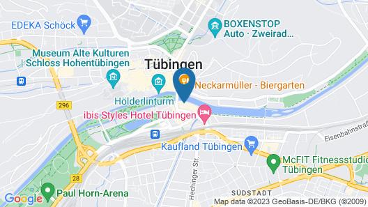 Domizil Tuebingen Map