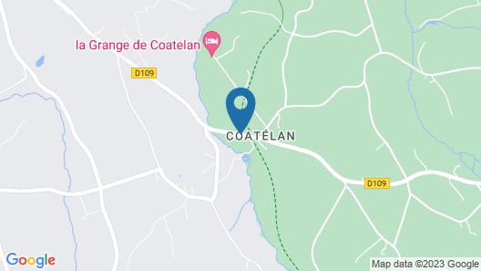 La Grange de Coatelan Map