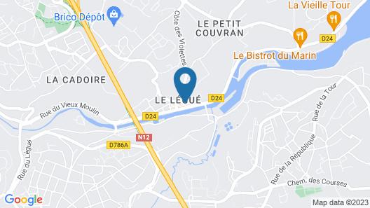 Appartement Duplex vue sur le Port Map