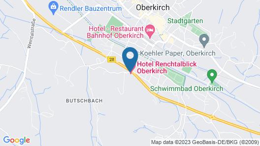 Hotel Renchtalblick Map