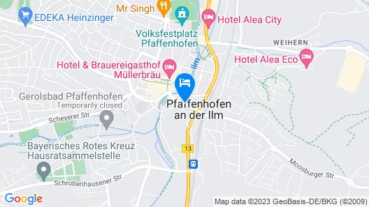 Hotel Moosburger Hof Map