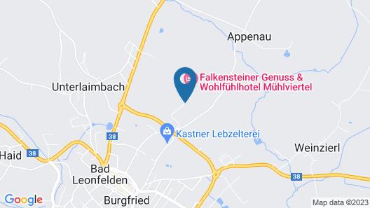 Falkensteiner Hotel & Spa Bad Leonfelden Map