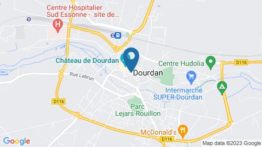 Best Western Blanche De Castille Dourdan Map