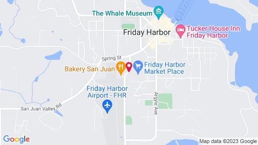 The Orca Inn Map