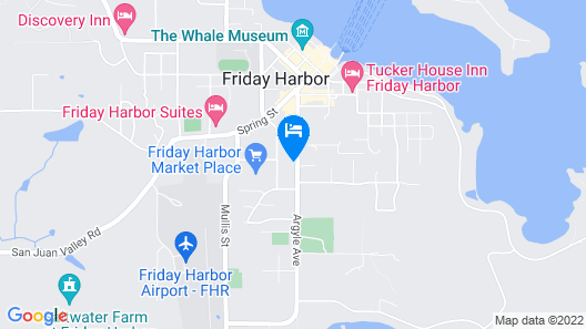 Argyle House Bed and Breakfast Map
