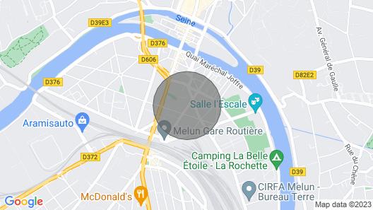 ??joli Studio A 300 Mètres DE LA Gare DE Melun Map