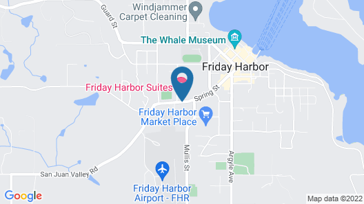 Friday Harbor Suites Map