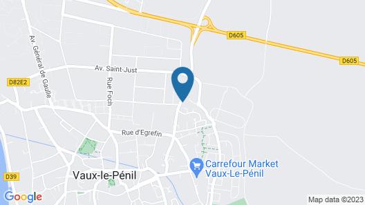 Au Germenoy Map