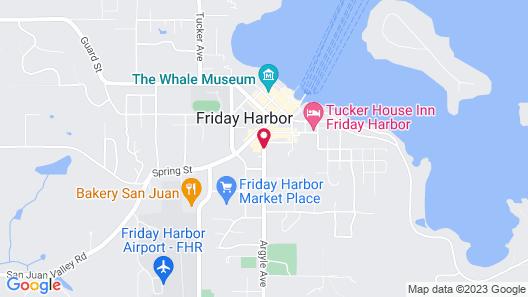 San Juan Island Hostel Map