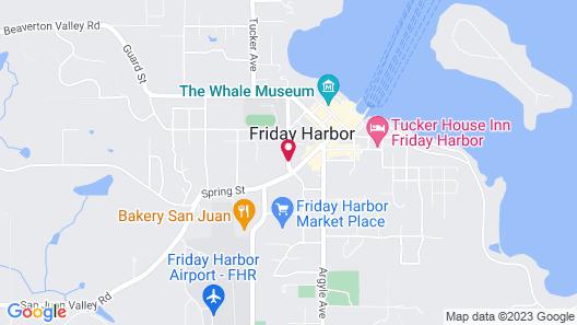 Friday Harbor Grand B&B Map