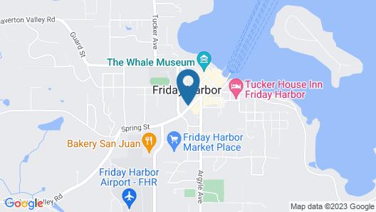 Earthbox Inn & Spa Map