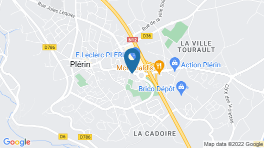 Ibis Styles Saint Brieuc Plerin Map