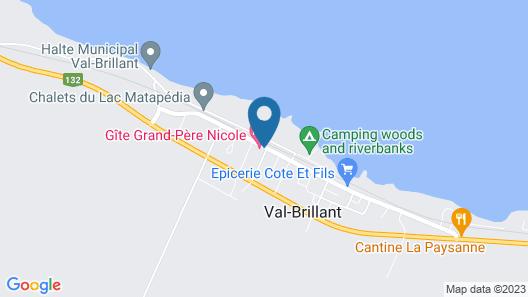 Gîte Grand-Père Nicole Map