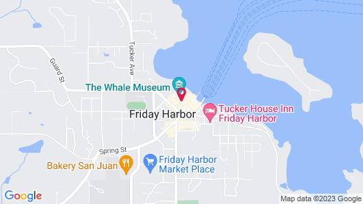 Friday Harbor House Map