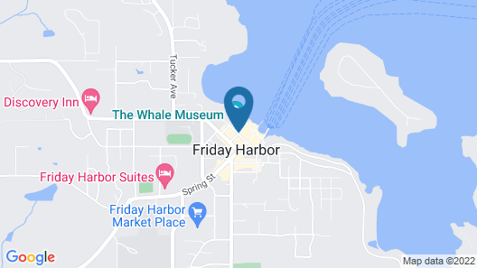 Friday Harbor House Map