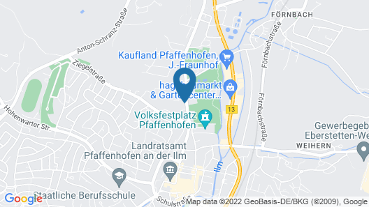 ZÄHLWERK Apartments Map
