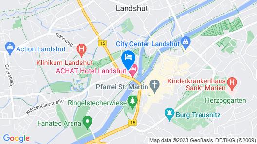 City Hotel Isar Residenz Map