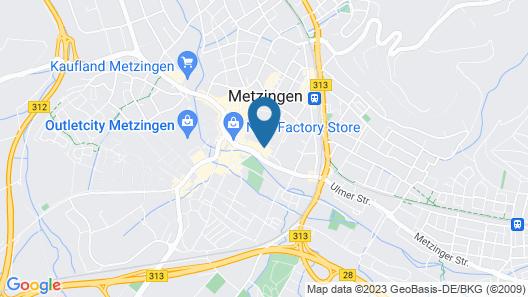Hotel Schwanen Metzingen Map