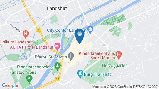 Hotel Freischütz Apartments Map