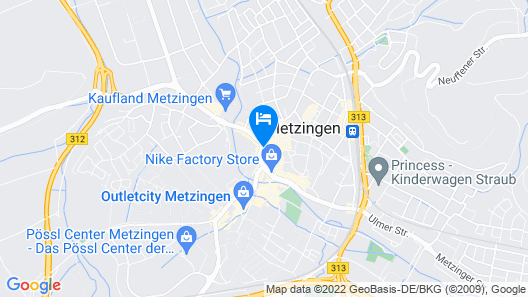 Hotel kukione Deluxe Map
