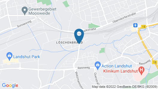Landshuter Hof Map