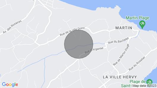 Gite Plérin, 2 bedrooms, 4 persons Map
