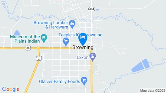 Little HiltInns Map