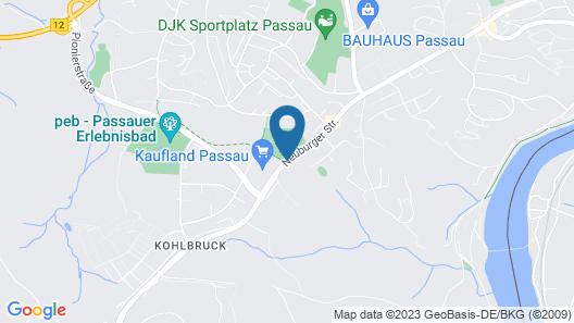 AMEDIA Passau Map