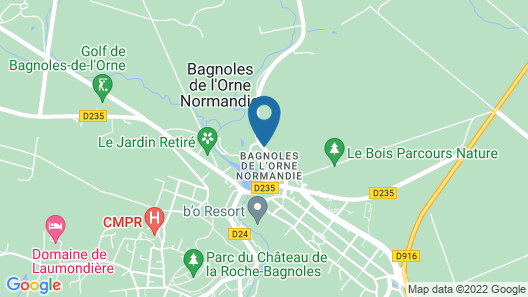 Bois Joli Map