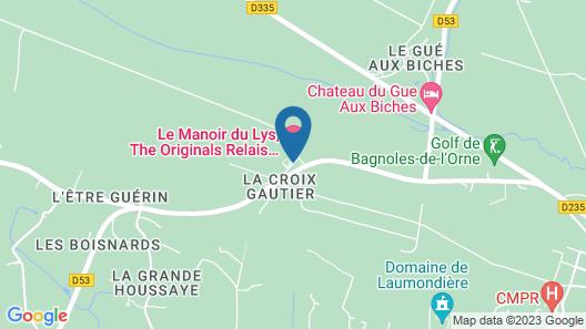Le Manoir du Lys, The Originals Relais (Relais du Silence) Map