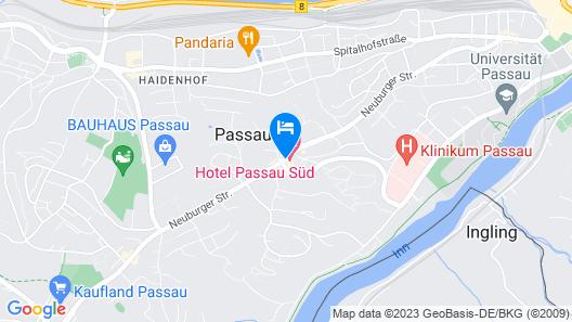 IBB Hotel Passau Süd Map