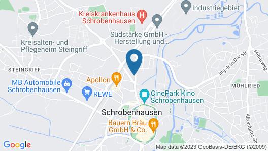 Haus Rosmarin Map