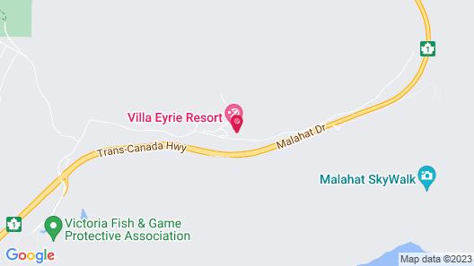Villa Eyrie Resort Map