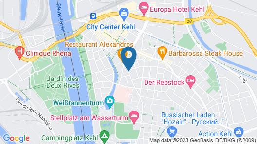 Hotel Hofreit am Bierkeller Map