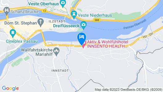 DORMERO Hotel Passau Map