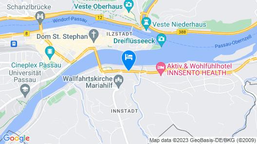 rivers Passau Map