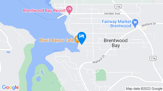 Bliss By the Bay Map