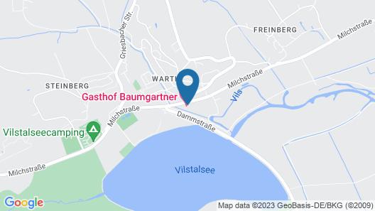 Landgasthof Baumgartner Map